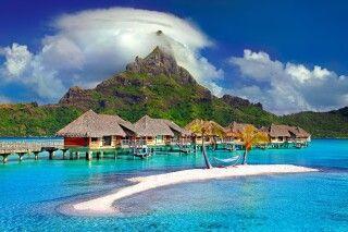 Overwaterbungalow auf Bora Bora