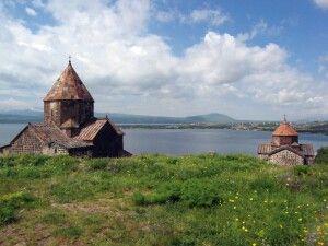 Sewan Halbinsel mit Kirche
