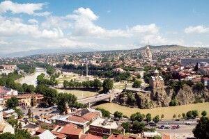 Blick auf Tiflis