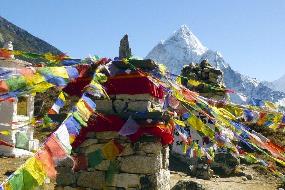 Gedenkgrab am Mt. Everest