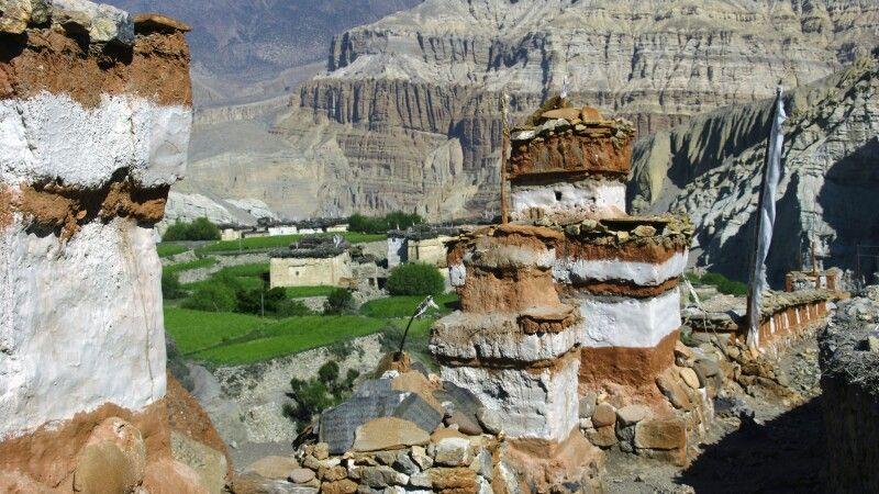 Weg von Tetang nach Muktinath © Diamir