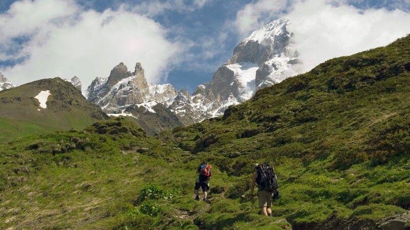 Trekking in Swanetien © Diamir