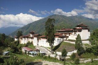 Dzong in Trongsa