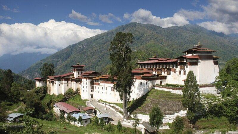 Dzong in Trongsa © Diamir