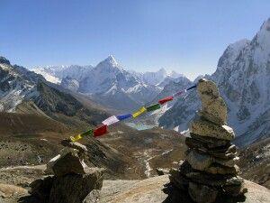 Abstieg vom Cho-La-Pass (5368 m)