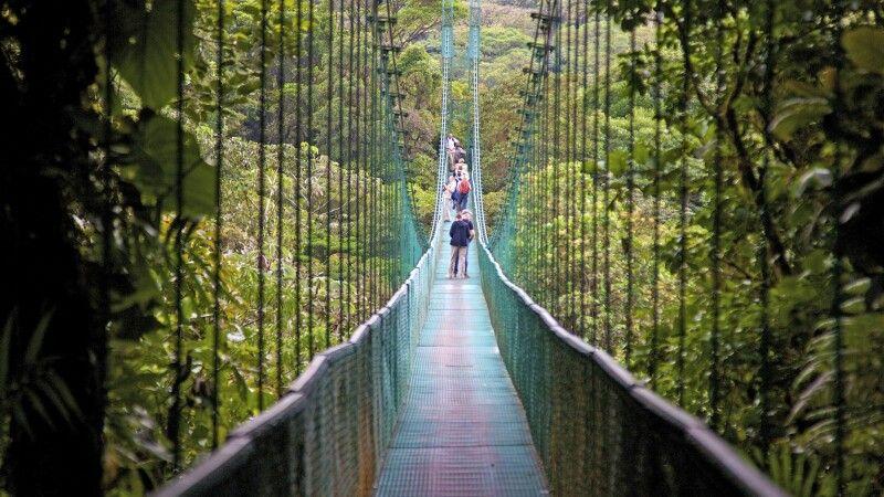 Hängebrücken Monteverde © Diamir