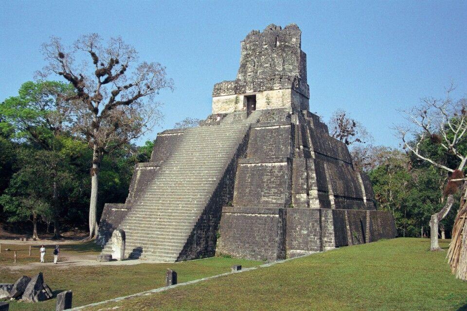 Tempel 1, Tikal, Petén, Guatemala