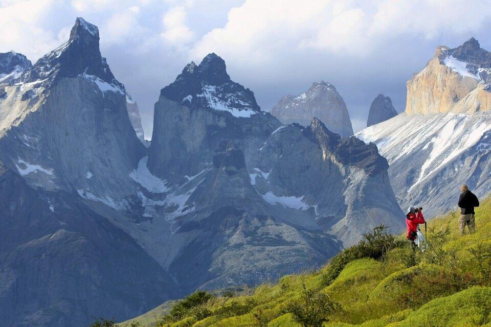 Blick auf die Torres del Paine