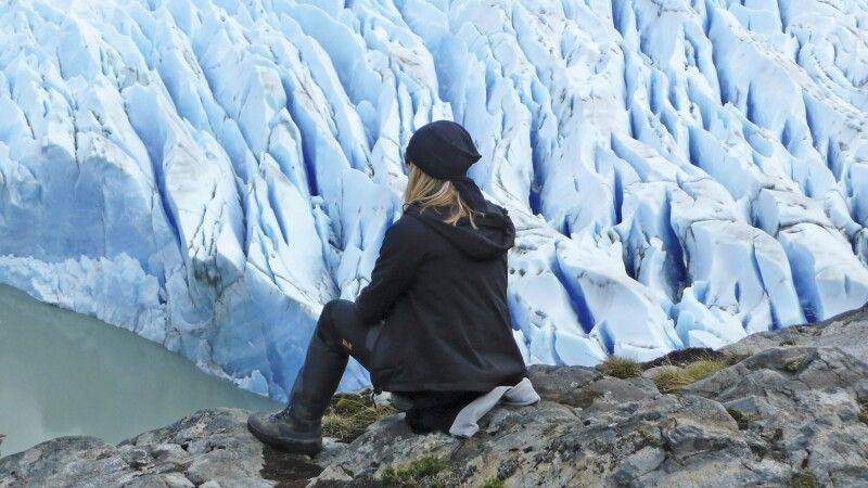 Am Grey-Gletscher im Nationalpark Torres del Paine © Diamir