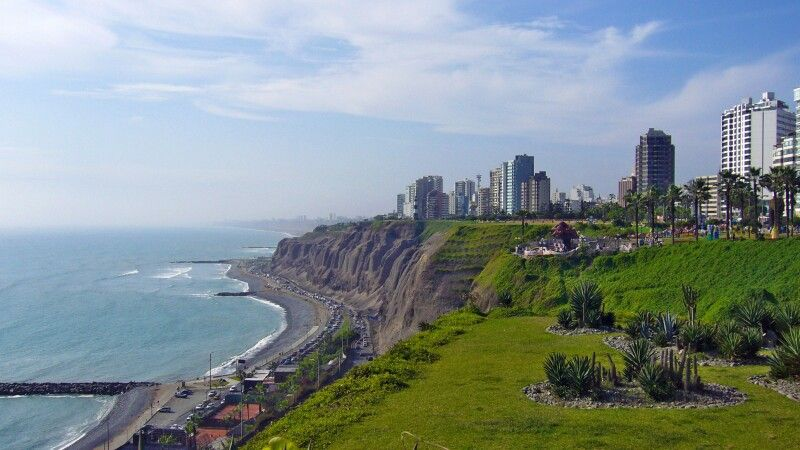 Blick auf Lima © Diamir