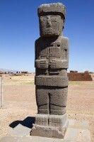 Statue in Tiahuanaco
