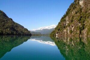 Fjord in Patagonien