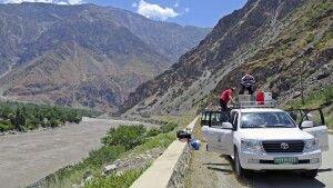 Auf dem Pamir Highway