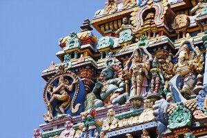 Sri-Minakshi-Tempel in Madurai