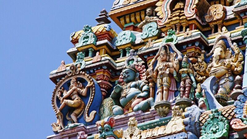 Sri-Meenakshi-Tempel in Madurai © Diamir