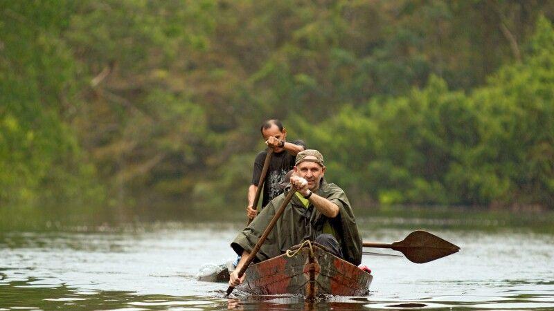Kanutour im Regenwald © Diamir